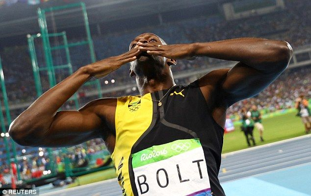 They say lightning never strikes twice, let alone three times, but Usain Bolt has his eyes set on immortality after again claiming the title of fastest man in the world