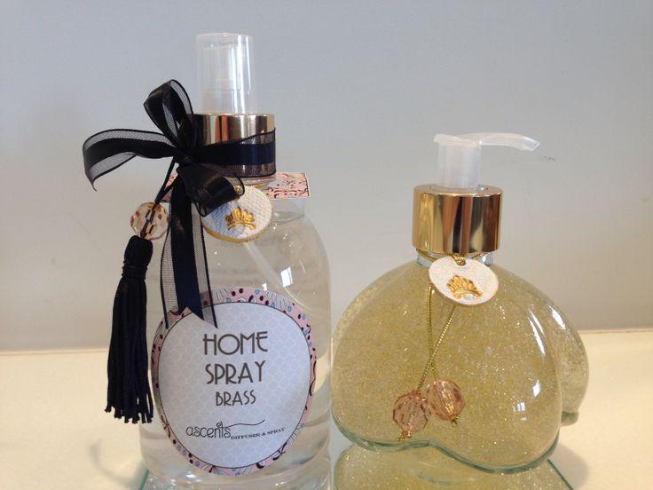 Home spray and liquid soap kit