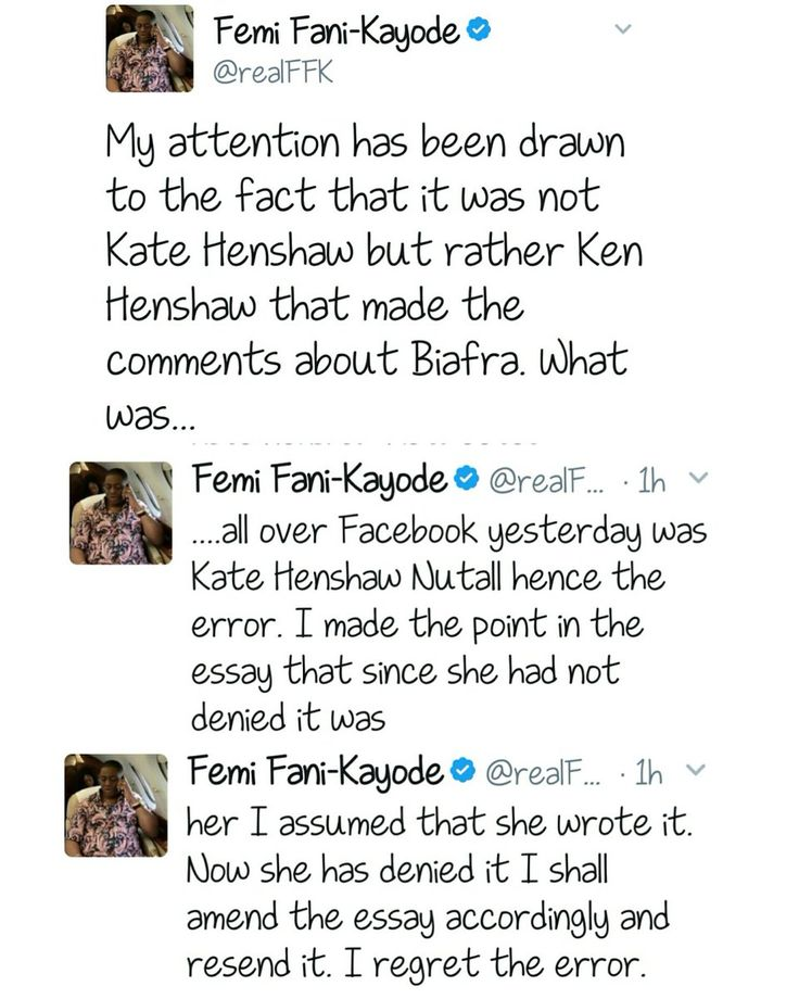 Kate Henshaw And Femi Fani-Kayode In Twitter Fight