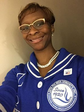 Soror Alexis Smith is ROCKIN THE VOTE ! 2016 Presidential Election