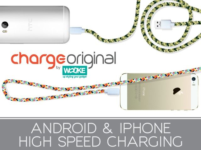 ChargeOriginal a stylish high speed charging USB cable!