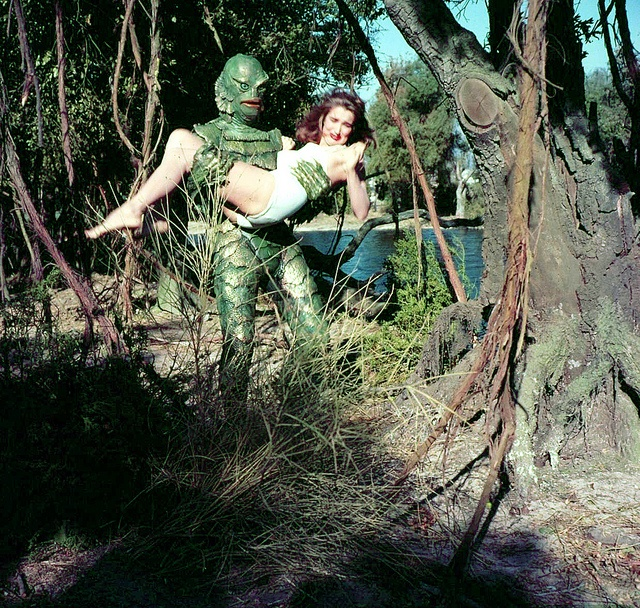 96 best images about Creature From The Black Lagoon on Pinterest ...