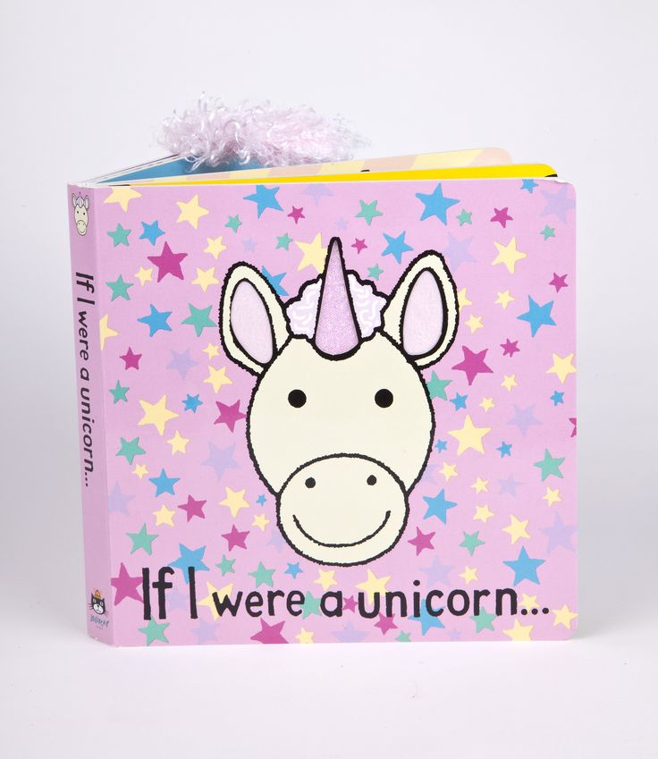 Jellycat If I were a Unicorn Book Suitable for ages 12 months due to fibre shedding Features: - Paper Board & Polyester - wipe clean only