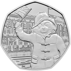 To celebrate the 60th anniversary of Paddington Bear's first appearance. These coins are great collectibles for those lovers.