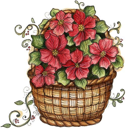 Best Clipart Flowers Trees Images On Pinterest Drawings
