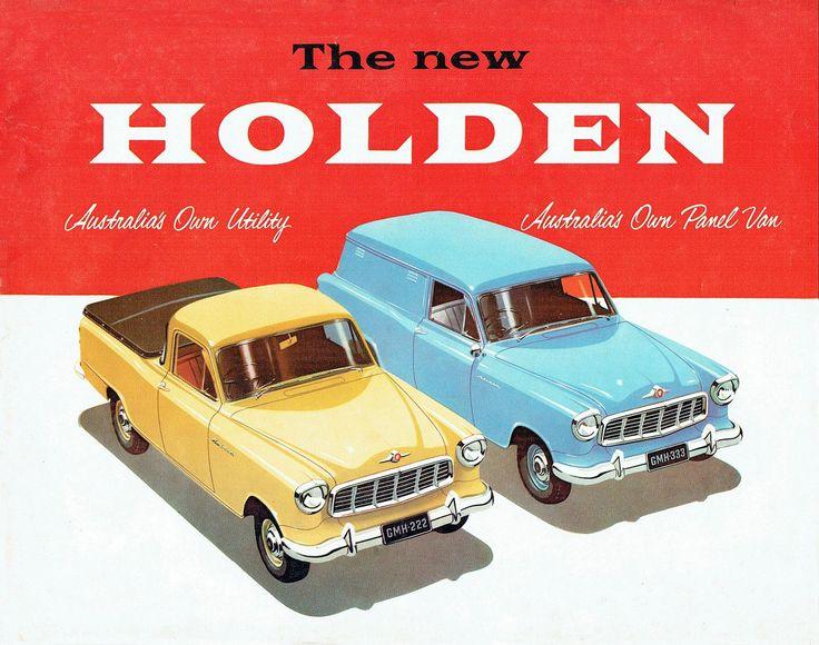 1957 Holden FE Van & Ute Brochure (Aus)