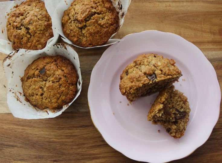 Date & Walnut Muffins - low sugar, high protein, nutty and moist. www.cookfasteatslow.com