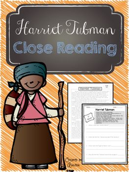 FREE! These close reading activities are perfect for Black History Month, or any time of the year! This is available as a traditional PDF and a Google Doc link!**************************************************************************************Help your students dig deeper into nonfiction reading with these close reading passages and questions.