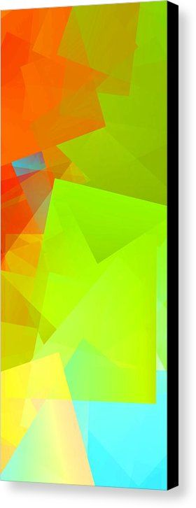 Simple Cubism 24 Canvas Print by Chris Butler.  All canvas prints are…