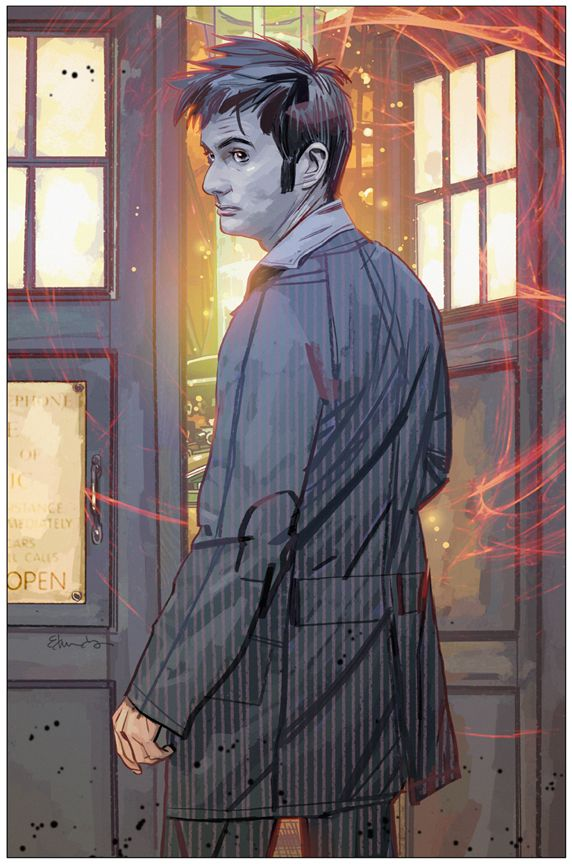 The 10th Doctor by Tommy Lee Edwards.
