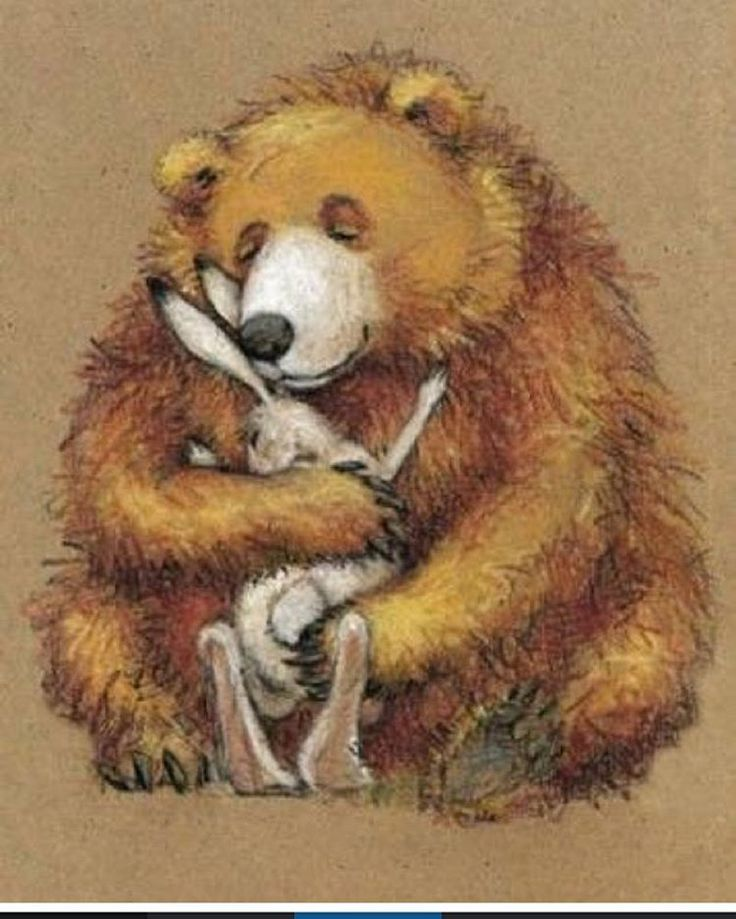 картинка медведь с зайчик некоторые идеи конструкторов