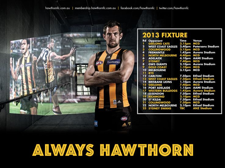 1000+ Images About Hawthorn Hawks On Pinterest