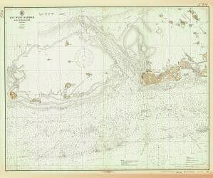 Historical Nautical Chart 584-6-1923: FL, Key West Harbor Year 1923