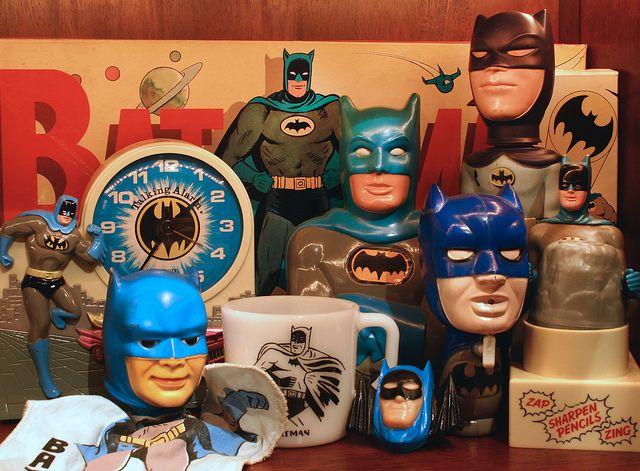 1966 Batman toys