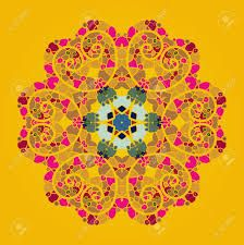 Image result for orange mandala