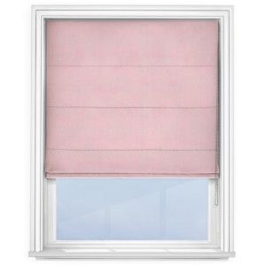 cheap-light-pink-roman-blind