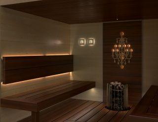 Sauna linear led 2M - Sauna Linear, mittarit ja Candela