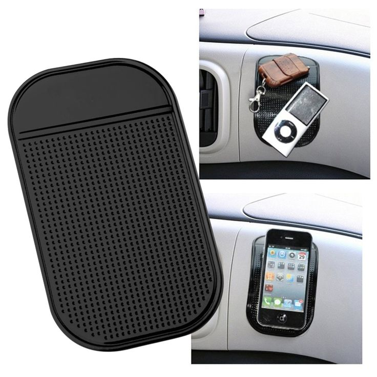Sticky Silicon Non Slip Pad Car Dashboard Mount Magnetic Car Phone Holder for GPS PDA MP3 MP4 Anti Slip Mat Soporte Movil Car
