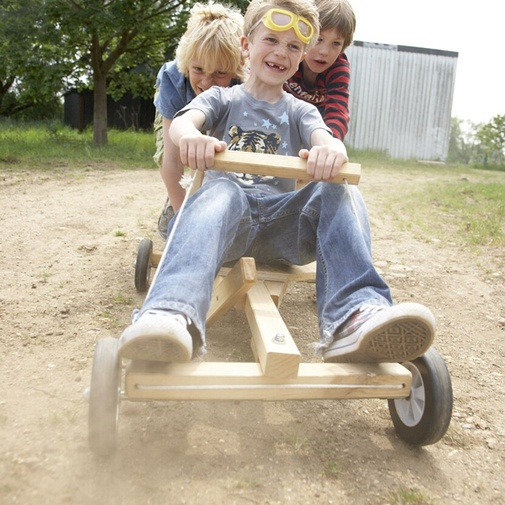 Homemade Wooden Go Kart Kits – Jerusalem House