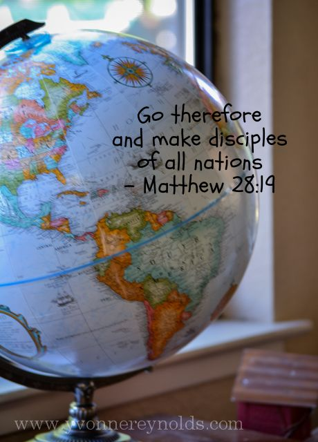 Go therefore and make disciples of all nations - Matthew ...