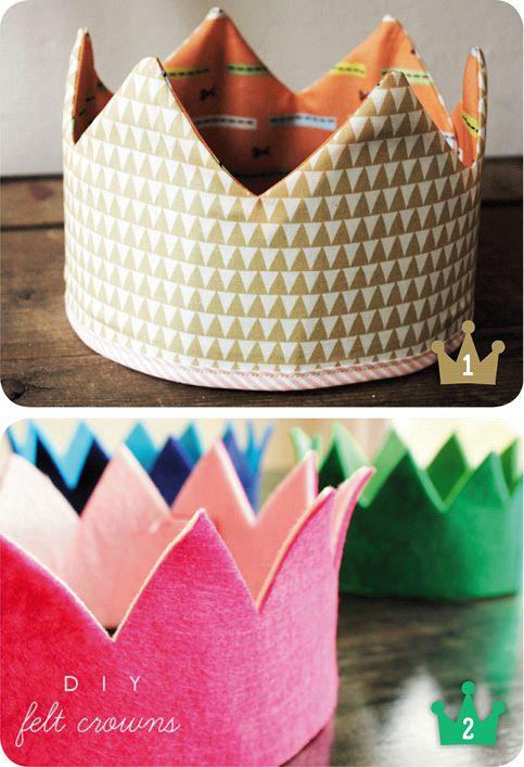 Coronas para niños #kids #crown #DIY