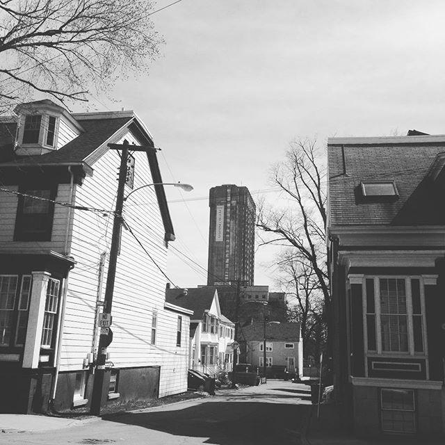 Suburban urban #Halifax #southend #downtown
