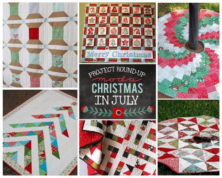 65 best Quilting - Christmas Tree Skirt images on Pinterest ... : christmas tree quilt pattern moda - Adamdwight.com