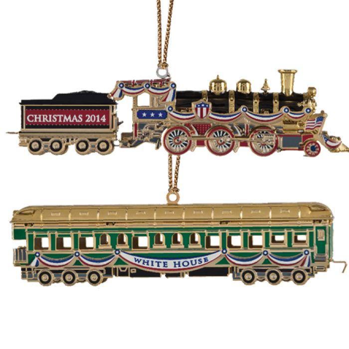 United States Christmas Ornaments Part - 30: 2014 White House Christmas Ornament | The White House Historical Association