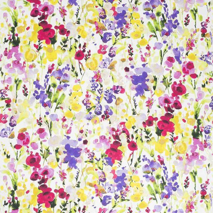 Warwick Fabrics : INGRID, Colour CHINTZ