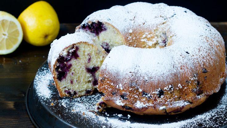 Blueberry Lemon Bundt Cake Recipe