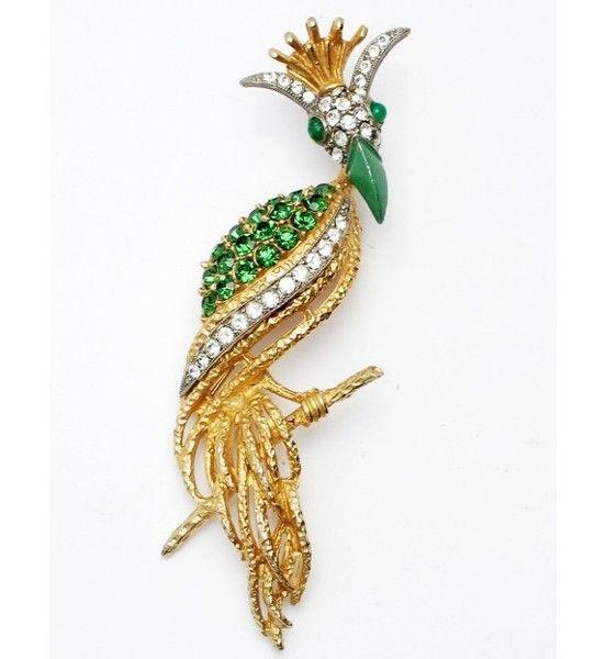 Florenza Bird of Fantasy Figural Brooch