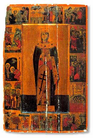 Icon of Saint Catherine of Alexandria, 13th Century, St. Catherine's Monastery, Mount Sinai, Egypt.