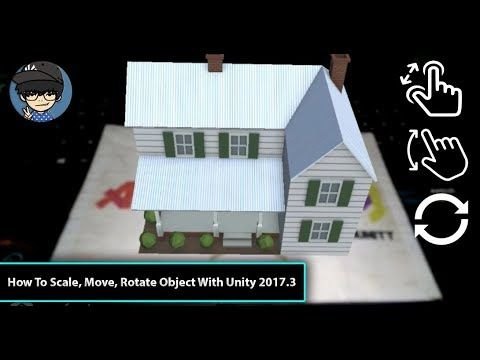 How To Scale Move Rotate Object Using Lean Touch With Unity