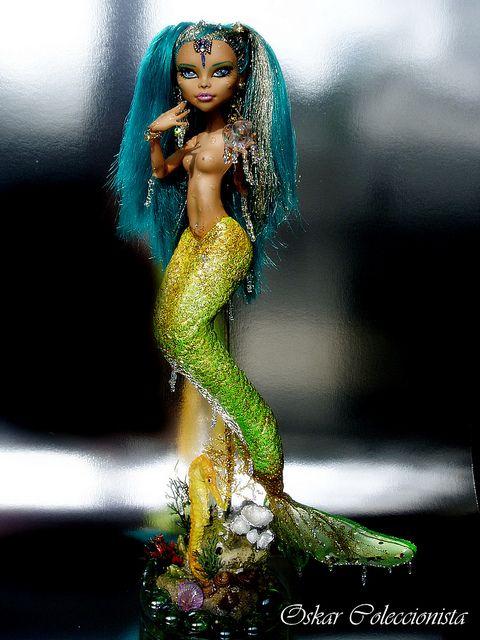 Nefera De Nile Mermaid Monster High OOAK | Flickr - Photo Sharing!