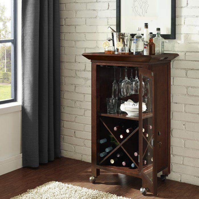 Enter The Portable Bar Cabinet. Storing Enough Spirits For A Small Soiree  Or A Large Open House, ... Part 98