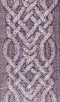 Узоры вязания спицами: косы, жгуты, араны