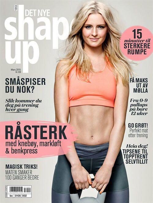 Treningsbladet er et ansvarsbevisst spesialmagasin for kvinner, med stoff som fokuserer på helse, kropp og velvære.