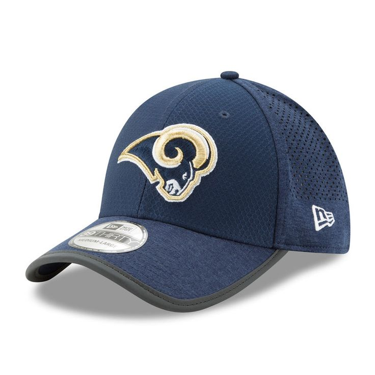 Los Angeles Rams New Era 2017 Training Camp Official 39THIRTY Flex Hat - Navy
