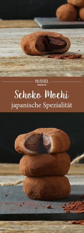 Schokoladen Mochi – japanische Spezialität – Hussel Confiserie