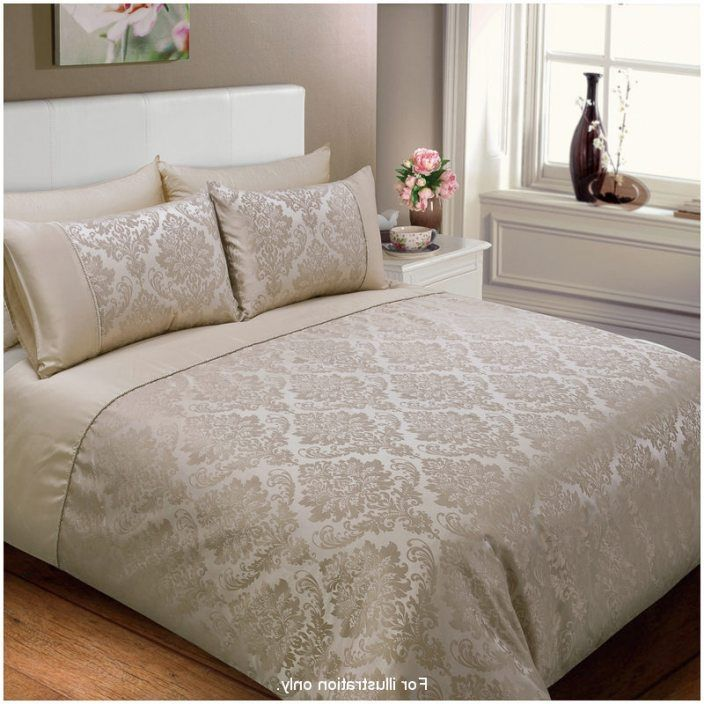 Jacquard Damask Duvet Set King Size One Duvet Set And Two