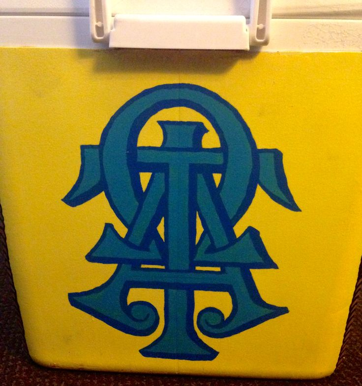 My cooler for ATO Formal!