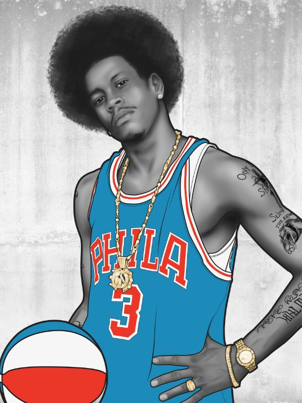 The basketball god know as Allen Iverson is a important part of my literacy history in developing my basketball IQ. At the time I didn't own a computer so the only way to see the NBA stats were to get a paper. Health class was my  last period and the teacher always bought a paper to read the health section. A group of us would take the sports section and read what the stats were. Form there I learned what ppg (points per game), rpg (rebounds per game) and apg (assist per game) all meant.