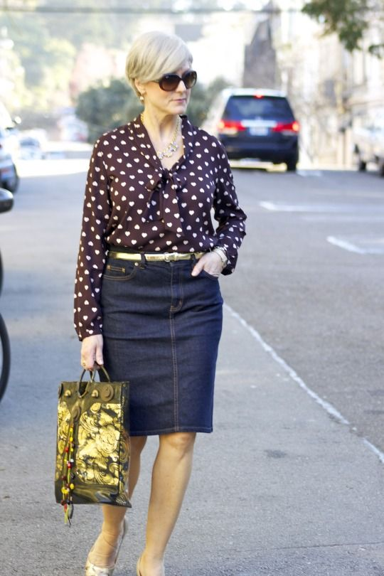 golden eye | style at a certain age #overfiftyblogger