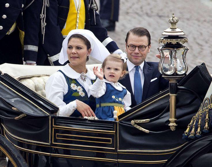 تصاویری از جشن روز ملی سوئد با حضور خانواده سلطنتی - SwedenFarsi
