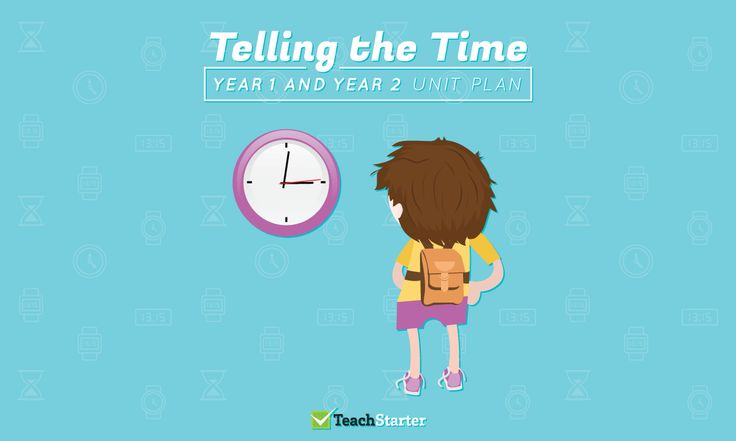 Telling the Time Unit Plan - Year 1 and Year 2