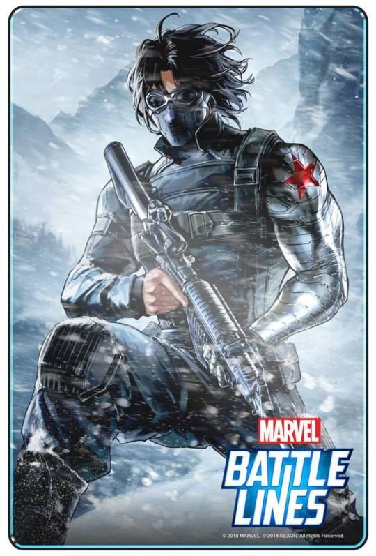 Winter Soldier: Marvel Battle Lines | Comic Art | Marvel
