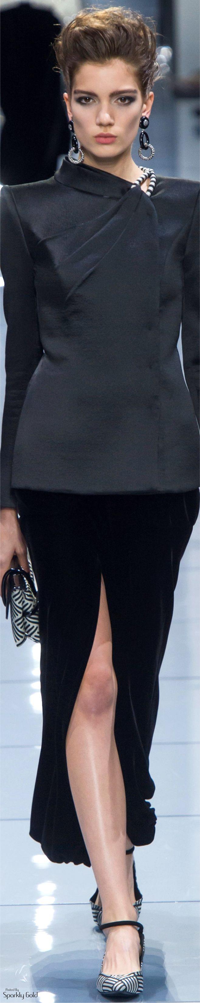 Giorgio Armani Privé Fall 2016 Couture ❤️