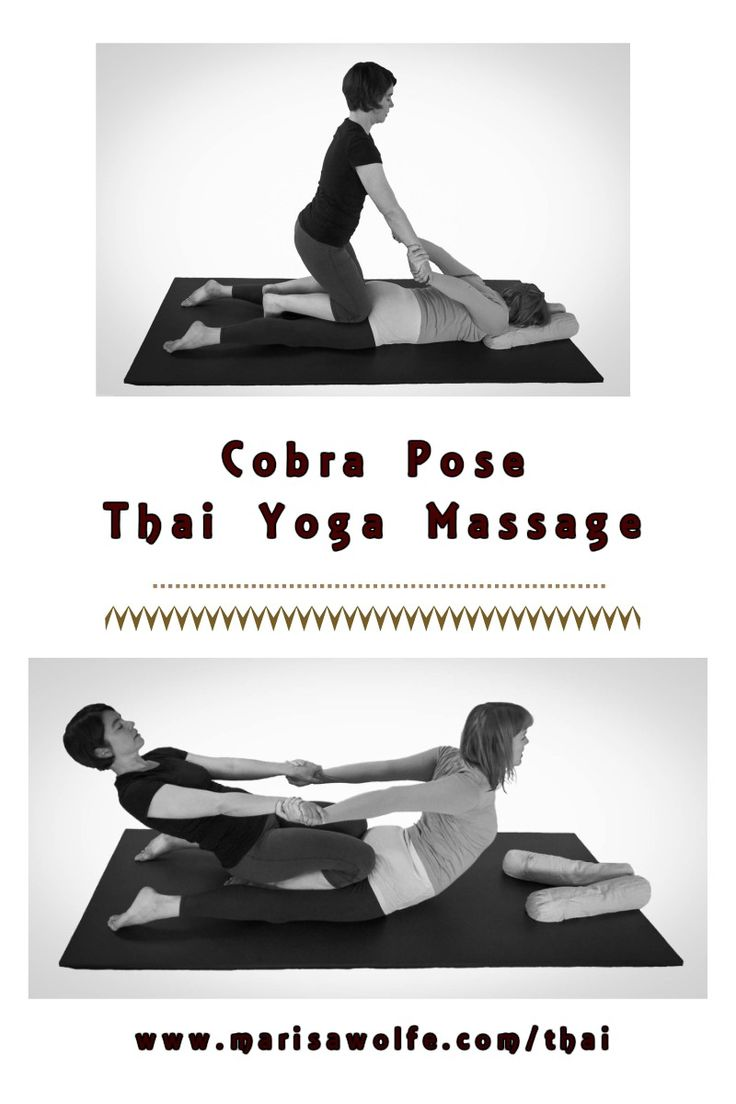 Learn Thai Yoga Massage!  It feels great and will transform your yoga practice.