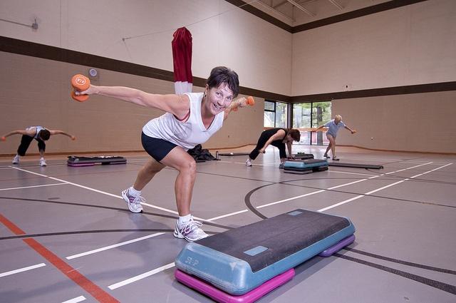 Health fitness classes at the YMCA of Simcoe/Muskoka
