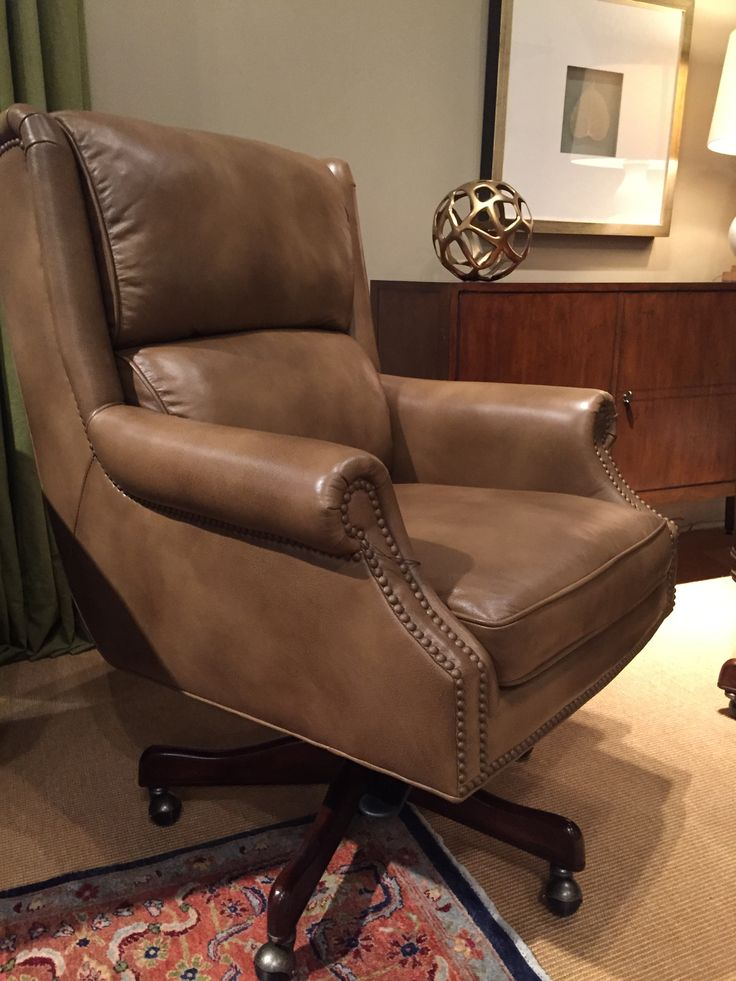 Leather Office Chair From Randall Allen